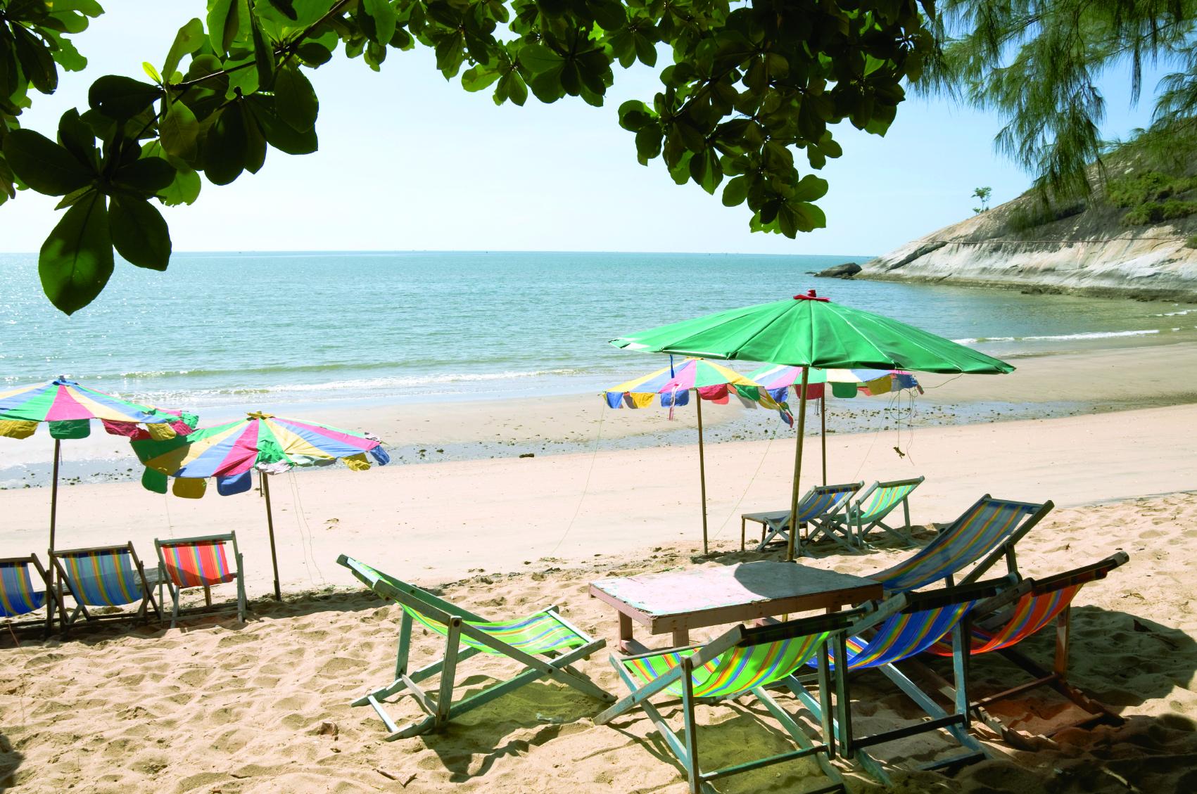 Hua Hin Beach - Hua Hin Ströndin
